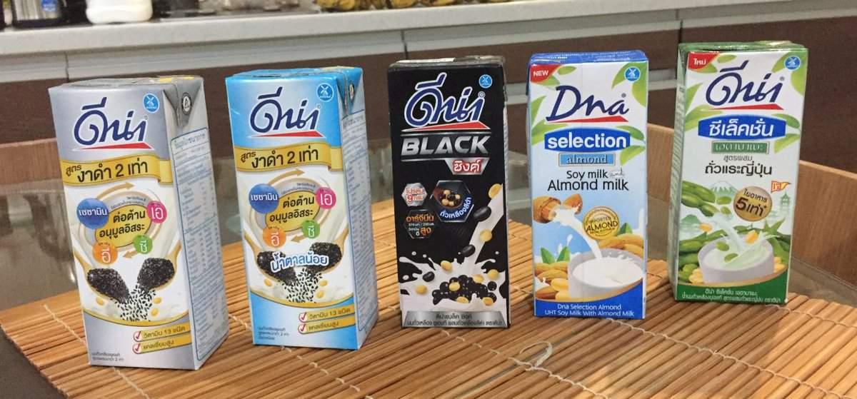 Dna(ディナー)の5兄弟一番右は枝豆と豆乳のコンボ
