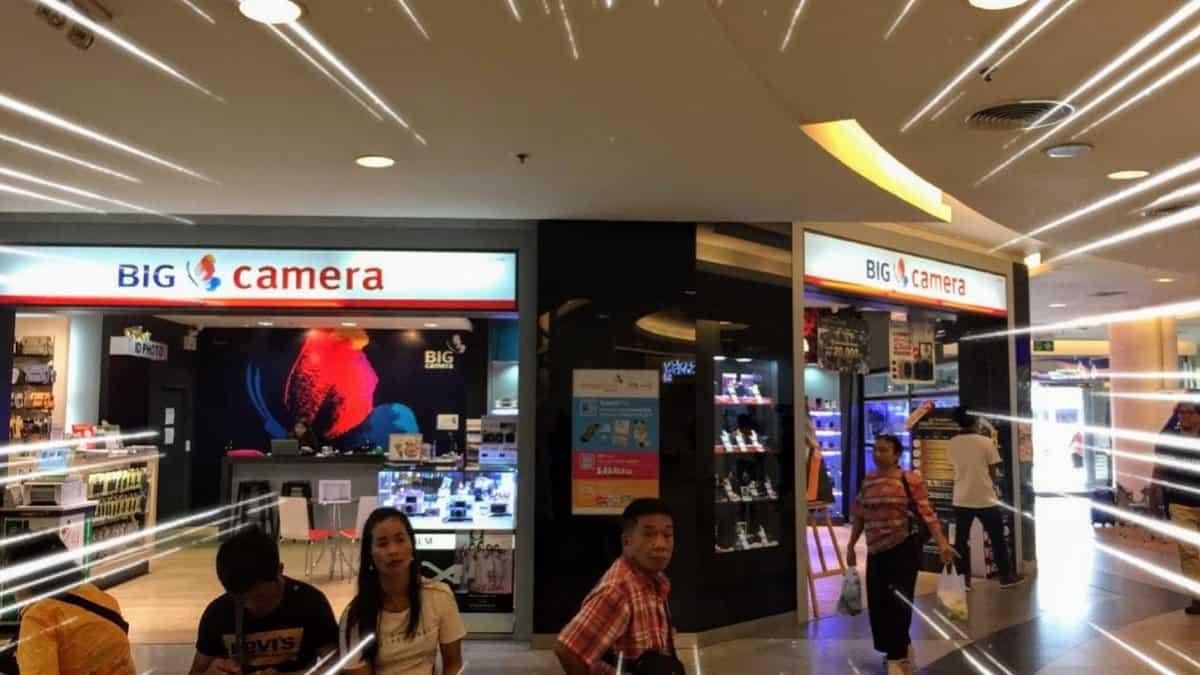 バンコクのシーコンスクエアのBigCamera